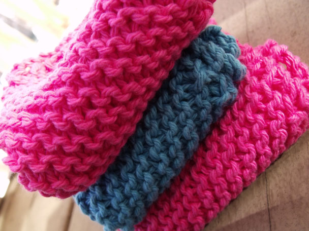 Free Knitted Wash Cloth Pattern Marla Holt