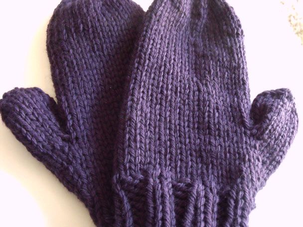 Knitting Pattern For Chunky Wool Mittens : Can I start with Mitts? : knitting