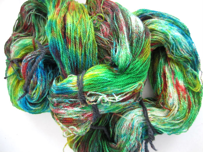 Happy Tie Dye Lace Yarn 4
