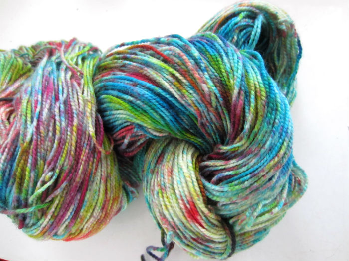 Happy Tie Dye Sock Yarn 3