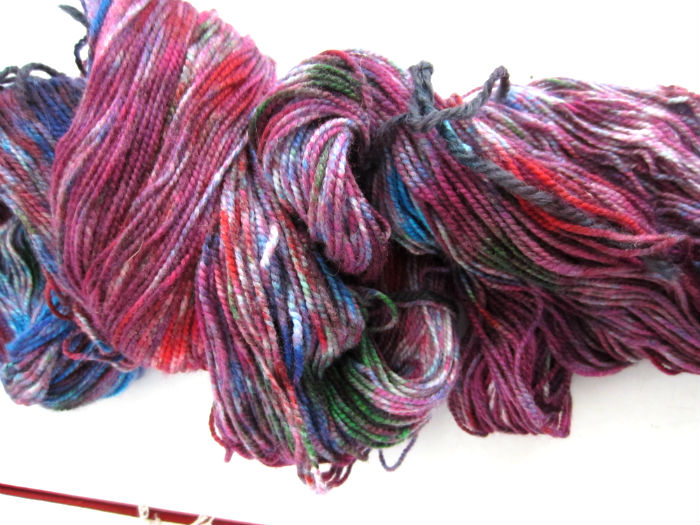 Jelly Bean Tie Dye Sock Yarn 3