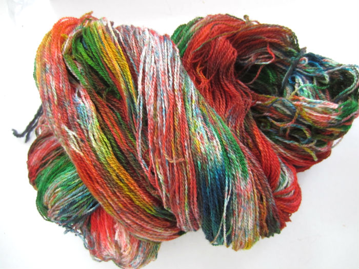 Madame Soothsayer Tie Dye Lace Yarn 3