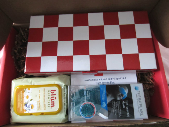 inside my first bluum box
