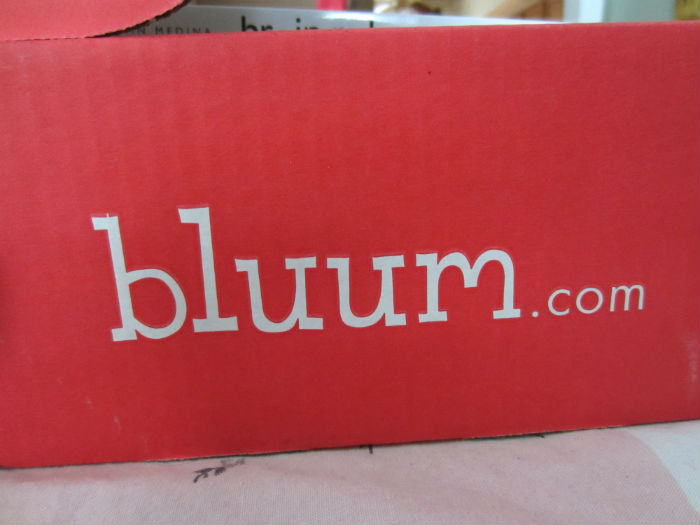 my first bluum box