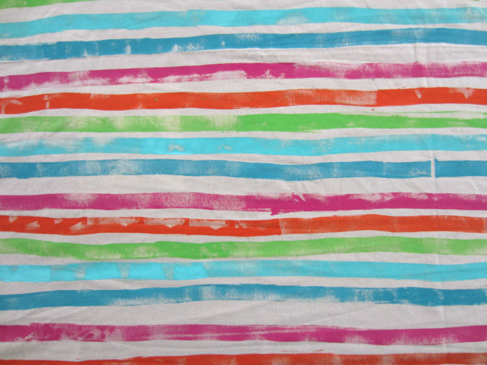 stripey baby wrap fabric