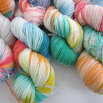 Dyeing Yarn with Leftover Easter Egg Dye
