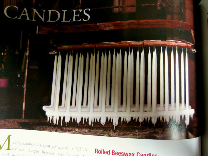 candles country living book