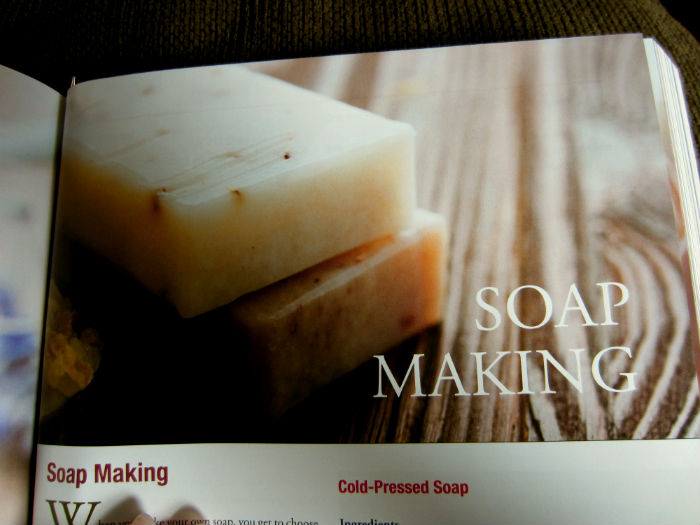 soap making country living book