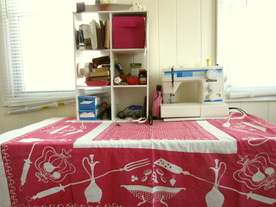 The Sewing and Art Table